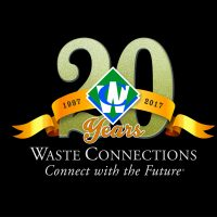 Waste Connections - 20 years logo (Use 2017)